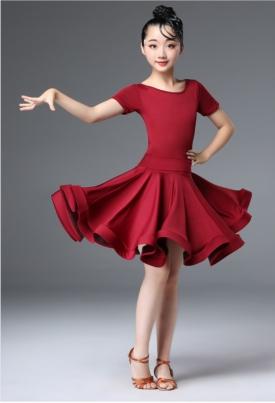 Платье рейтинговое вишнёвое