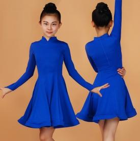 Платье рейтинговое синее