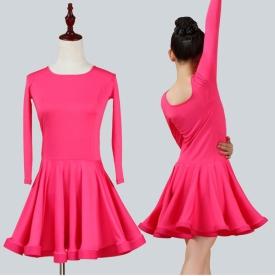 Платье рейтинговое розовое